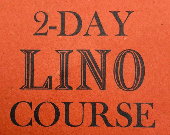 Voucher for Weekend Linocutting Course