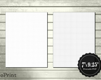 printable planner pages etsy