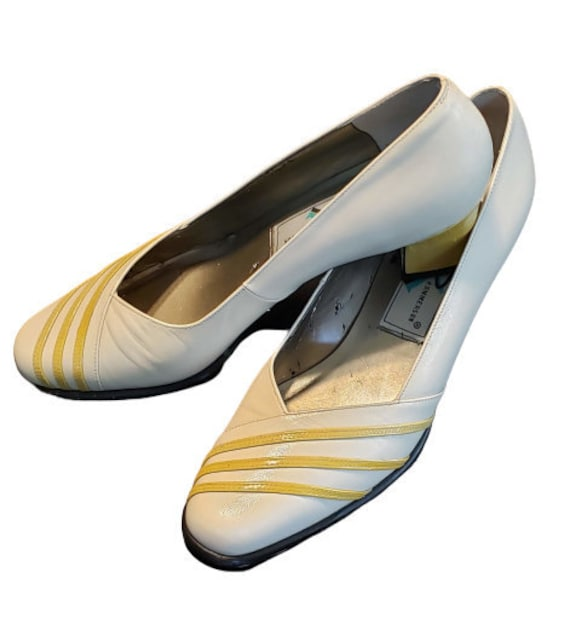 Retro Ros Hommerson Shoes 90's Gone 40's Yellow &… - image 2