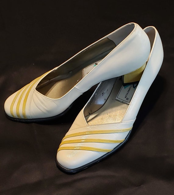 Retro Ros Hommerson Shoes 90's Gone 40's Yellow &… - image 4
