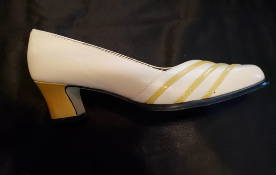 Retro Ros Hommerson Shoes 90's Gone 40's Yellow &… - image 10