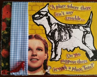 A Place Where There Isn't Any Trouble | Wizard of Oz Mixed Media