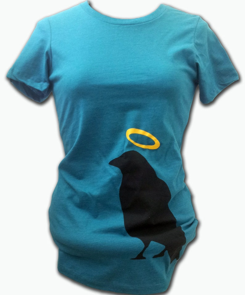 ON SALE  Holy Crow Fitted Women's Tee image 0