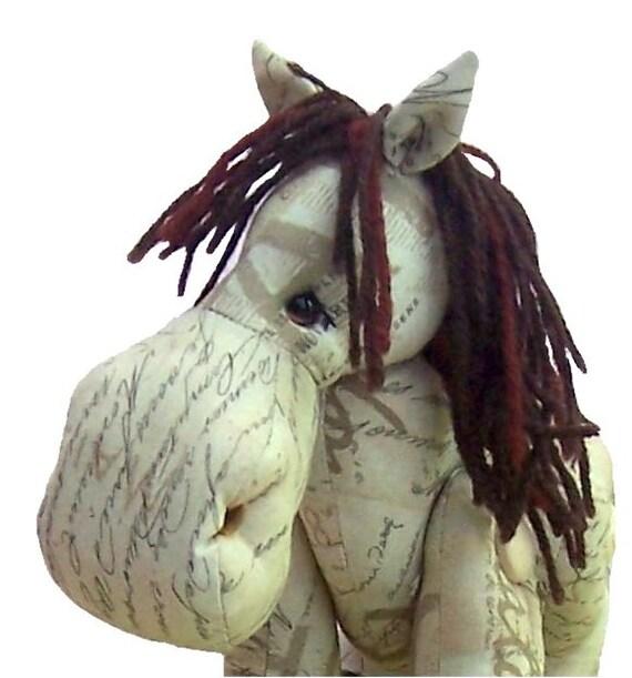 Zeder Kuscheltier Pferd Schnittmuster | Etsy