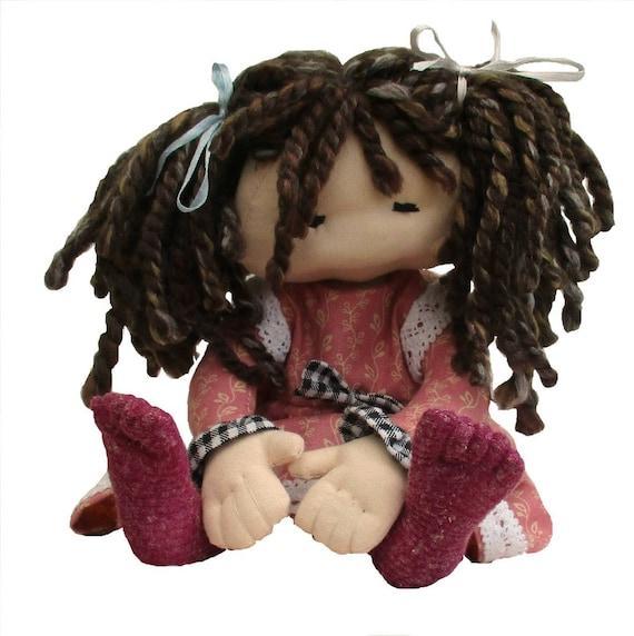 Dilly Stoff Tuch Puppe Nähen Handwerk Muster. Kuscheltier | Etsy
