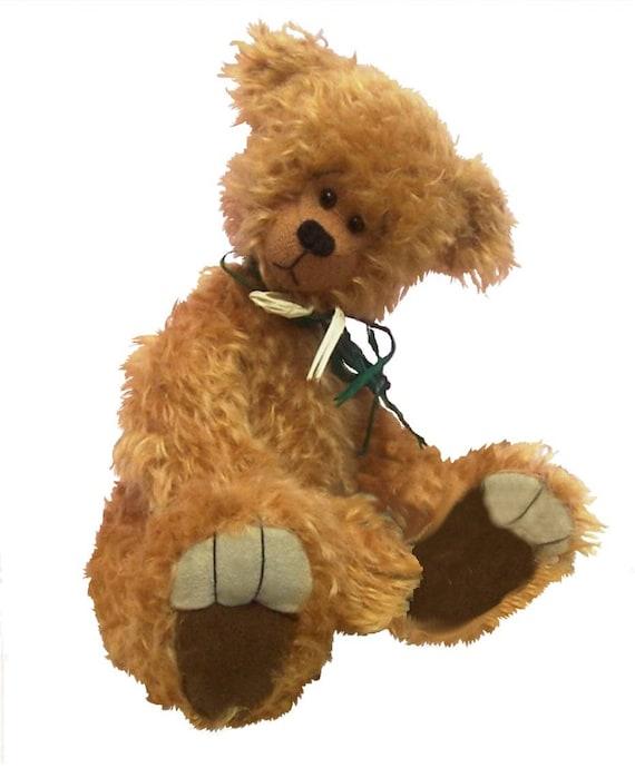Faustus Kuscheltier Teddybär Schnittmuster