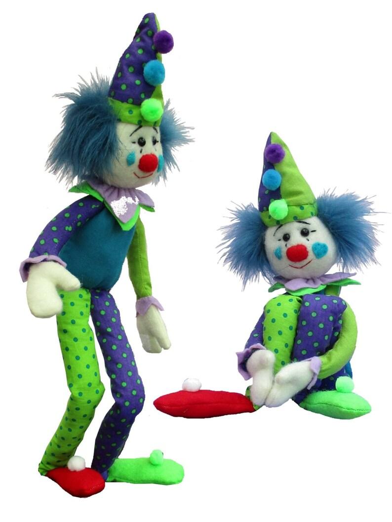 Modello Casper di giocattolo cucito coccodrillo clownEtsy thsQdrCx