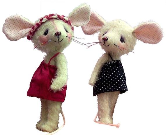 Carrie 4 Kuscheltier Maus Schnittmuster | Etsy