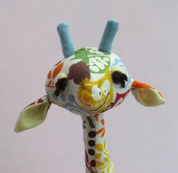 Gemini Kuscheltier Giraffe Schnittmuster 18 Zoll 45 cm | Etsy