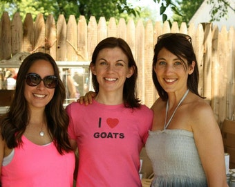 I Heart Goats T-shirt