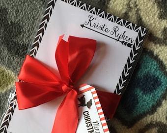 Personalized Notepad Arrow Theme