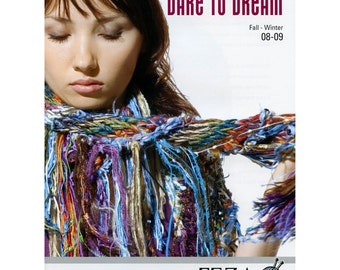 Feza Yarns, Pattern Collection, Dare to Dream, Fall Winter 2008-09, Knitting Patterns, Discontinued, Out of Print, New, Perfect Condition
