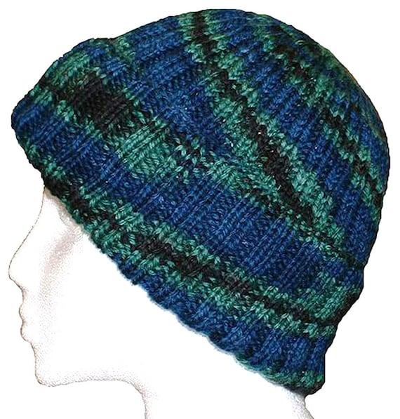 Hand Knit Pattern Watch Cap Knitting Pattern Pdf Baby Thru Etsy