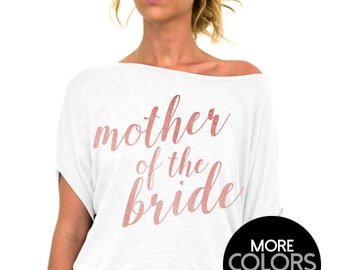 228e3ecc Mother of the Bride Shirt - Rose and Pearl - Slouchy Tee,Womens Top,Wedding  Day Shirt,Getting Ready Shirt,Mother of the Bride Top,Plus Size