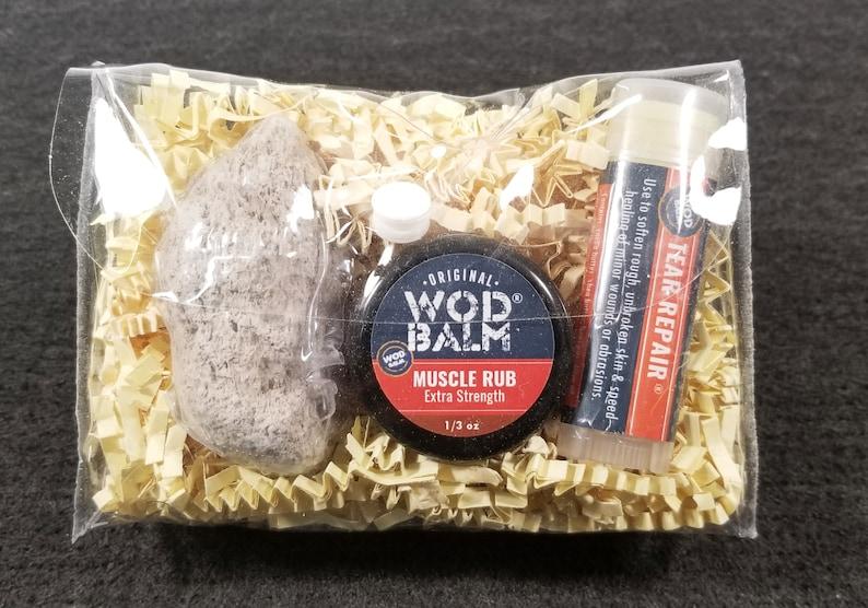 WOD Balm Gift Bag  Reusable bag w/ Natural Salves: Sore image 0