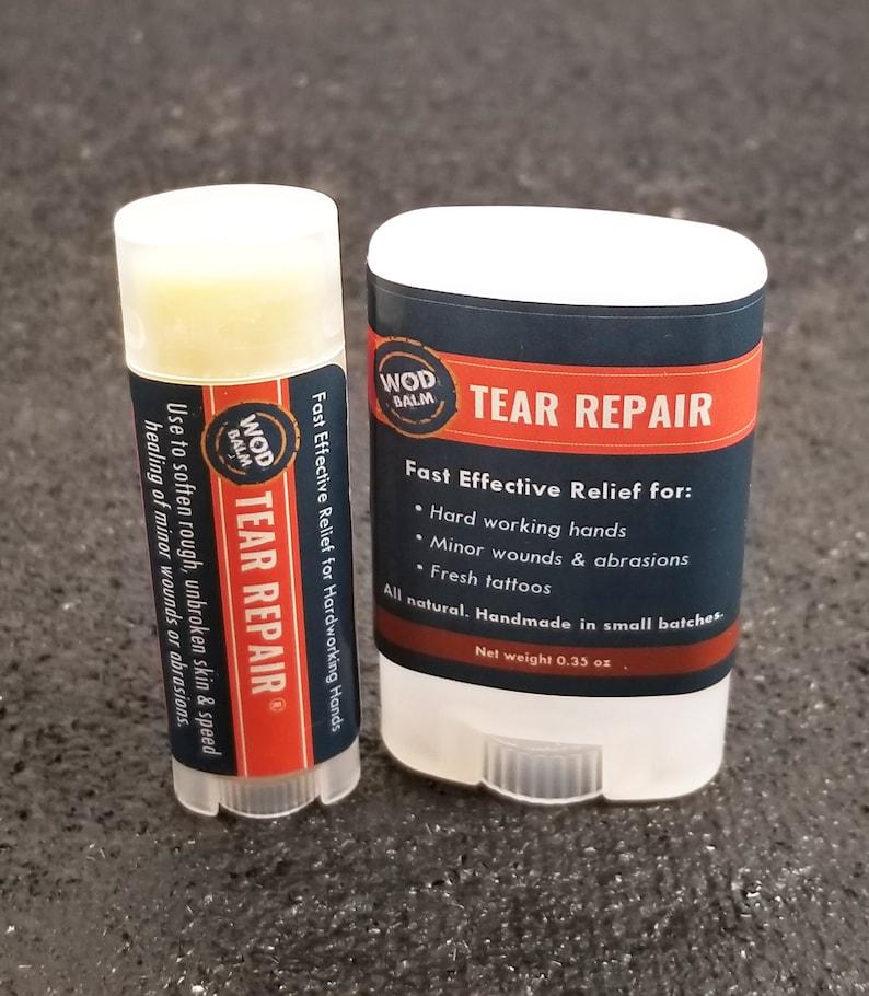 Tear Repair®  Super Dry Cracked Skin 100% Natural Healing image 0