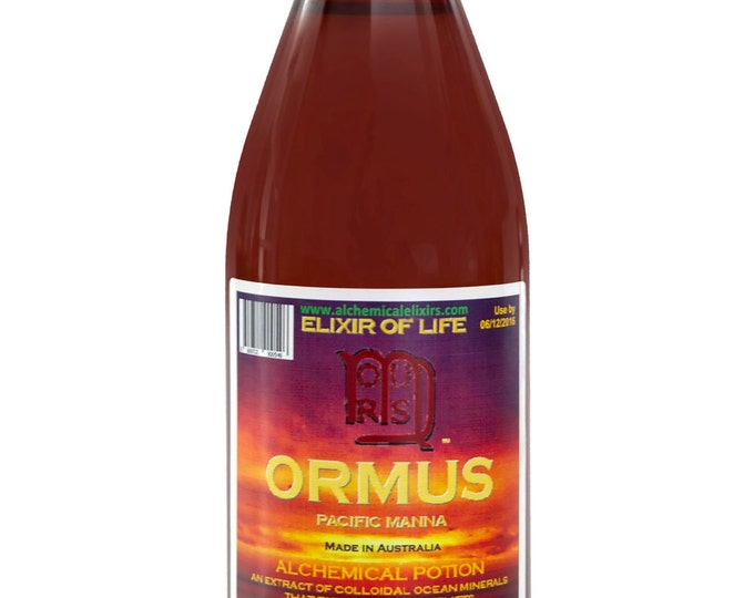 Ormus,Ormus Gold,Monatomic Gold,for Health and Longevity 25 Fl oz, Monoatomic Gold by Alchemical Elixirs