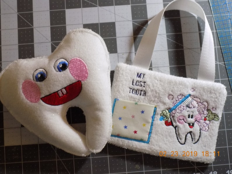 Tooth Fairy Pillow image 0