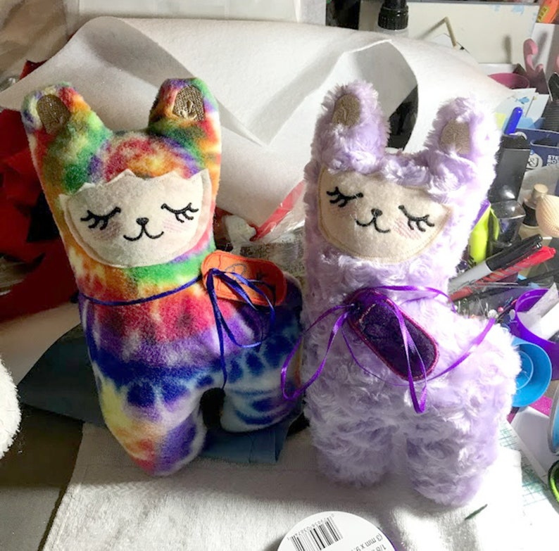 Llama Plush Stuffies 12-13 tall custom-made stuffed toy image 0