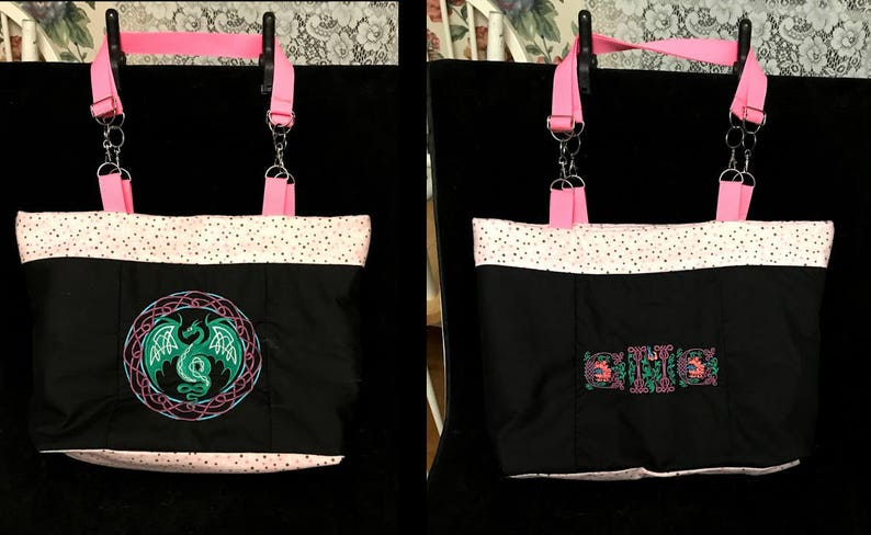 The Big Ol' Tote Bag™  Embroidered / Lined Personalized image 0