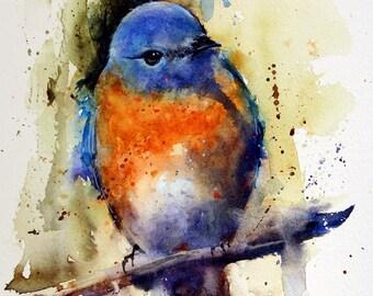 Bluebird Art Etsy