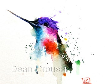 watercolor paintings etsy