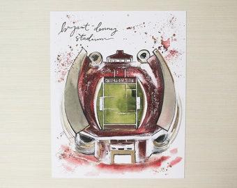 8x10 Bryant-Denny Stadium Print
