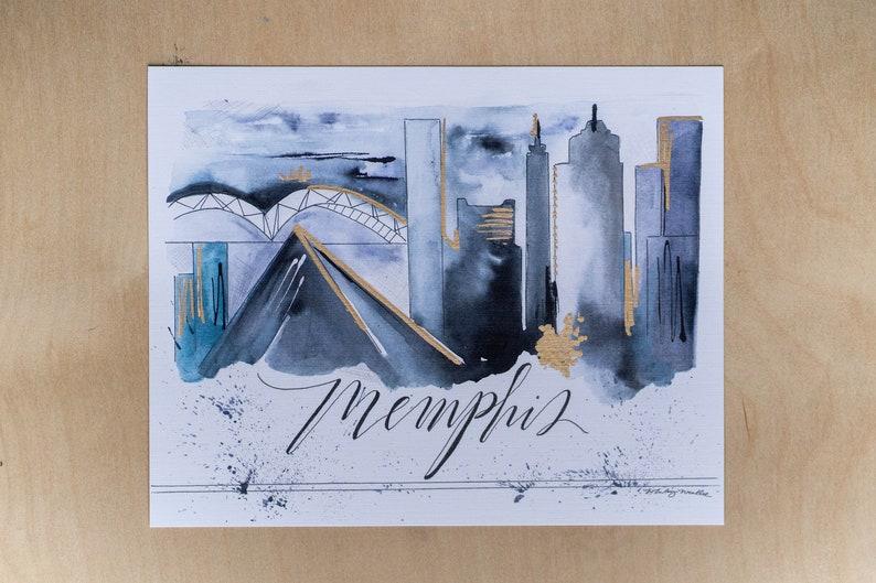 8x10 Memphis Print