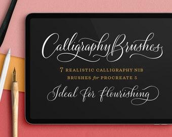 Calligraphy Nibs Procreate Brush Set