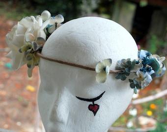 Art Nouveau Wedding Flower Crown