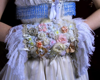 Fringed Muff Bouquet