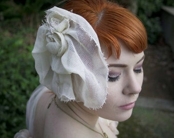 Rustic Bridal Clip.