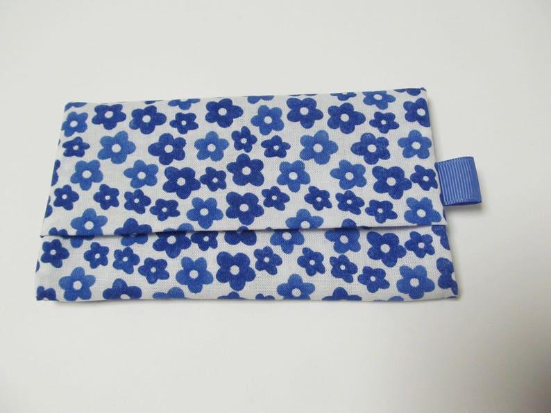 Tissue CaseBlue Flower