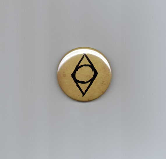 Thieves Guild Inspired Shadowmark Elder Scrolls Fan Art Button Etsy