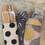Bamboo Utensil Kit (pick your own fabric)