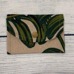 Monstera Card Pouch