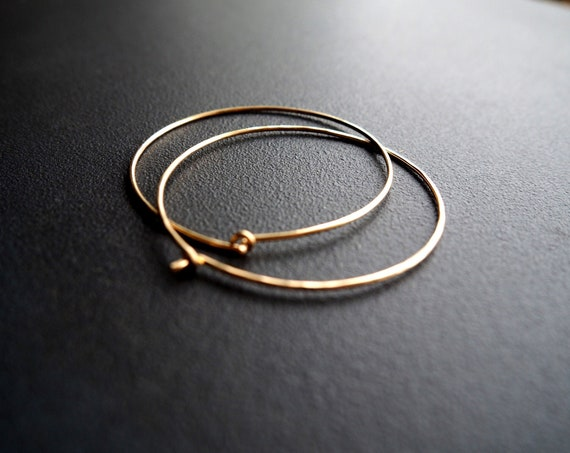 Circle Loop Earrings