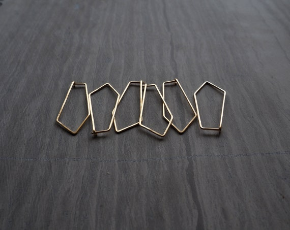 Simple Polygon Earrings