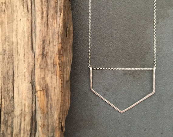 Small Chevron Necklace