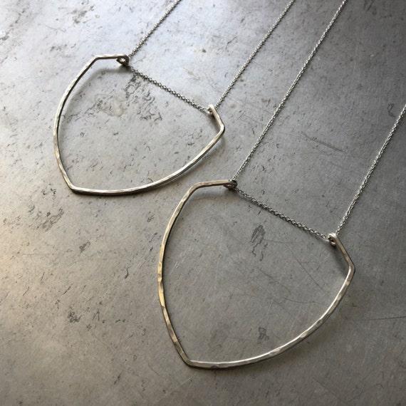 Round Shield Necklace