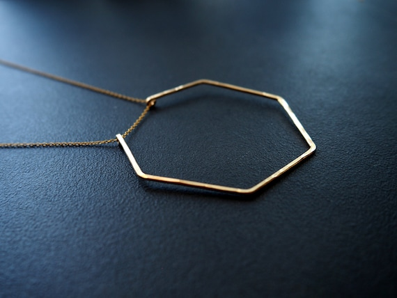 Heptagon Necklace