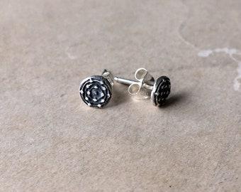 Little Earrings Studs, Small Silver Earrings, Post
