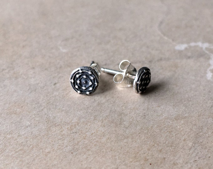 Little Earrings Studs, Small Silver Earrings, Post
