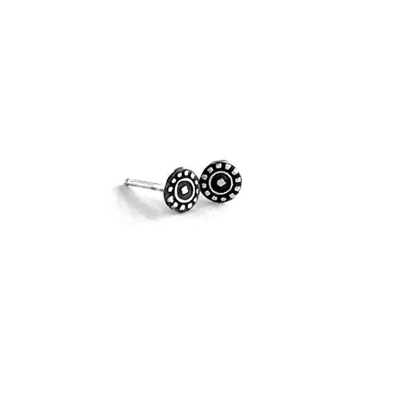 Mini Earrings | Sterling Silver Studs | Small Earrings | Tiny Studs