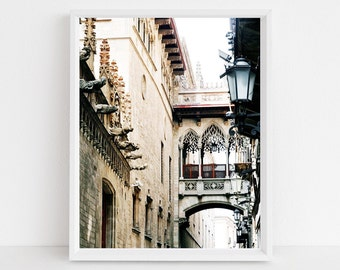 Printable Wall Art Spain Decor Spain Architecture Printable Instant Download Mediterranean Print Black and White Photography Spain Pic