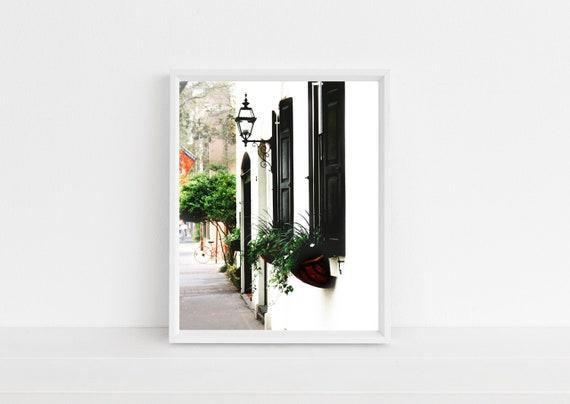 Southern Home Decor Charleston Architecture Photograph