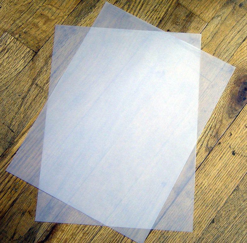 graphic relating to Printable Transparency Paper named 48 lb. Weighty Body weight Vellum Paper Translucent / Clear Paper - 8.5\