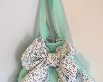 Purse, Grommet Purse, Modern Handbag