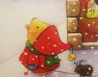 """5""""x 7"""" BOXED CHRISTMAS CARDS by Mary Melcher"""