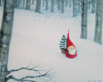 """5"""" x 7"""" BOXED CHRISTMAS CARDS by Mary Melcher (10 cards)"""